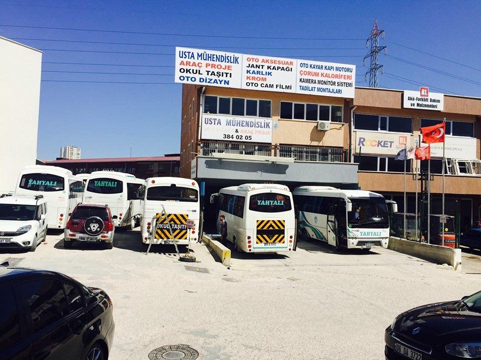 Okul Taşıtı Paket Dizayn Projesi Ankara