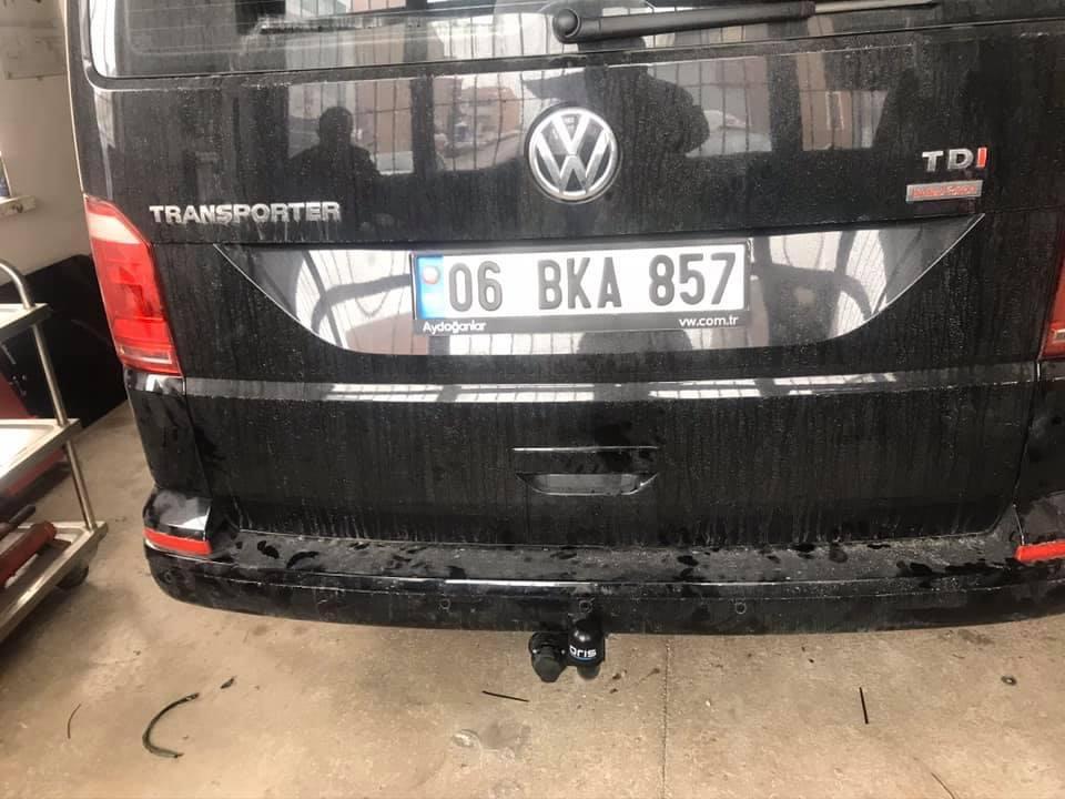 VW TRANSPORTER ÇEKİ DEMİRİ TAKMA MONTESİ VE ARAÇ PROJE FİRMASI ANKARA USTA MÜHENDİSLİK 05323118894